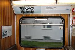 Siemens-Werbung im Syntegra-Prototyp-B-Wagen 498