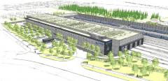 Betriebshof Süd - Visualisierung des Projektes
