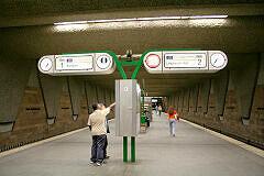 Fürther U-Bahnhof Fürth Hauptbahnhof