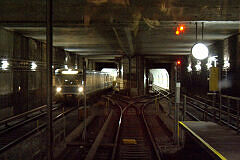 Ausfahrt aus dem Verbindungsgleis Implerstraße-Schwanthalerhöhe