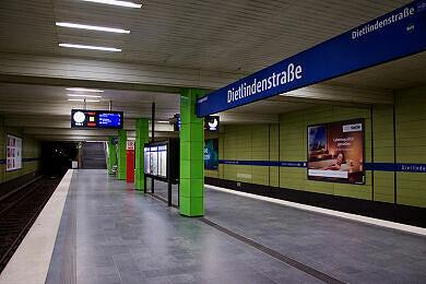 U-Bahnhof Dietlindenstraße