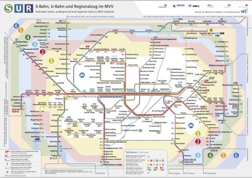 Schnellbahnnetzplan Dezember 2020