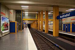 U-Bahnhof Nordfriedhof