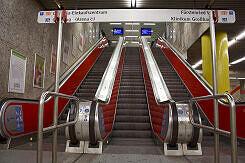 Aufgang zur U3/U6 am Sendlinger Tor