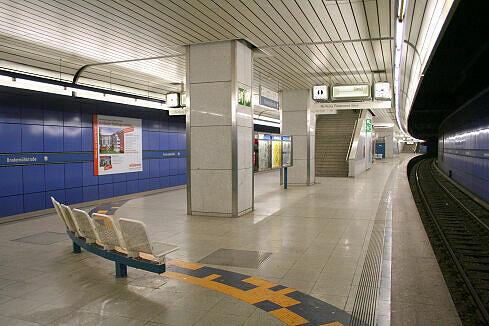 Brudermühlstraße Gleis 2