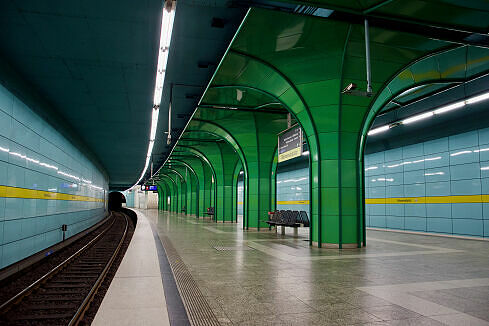 Böhmerwaldplatz Gleis 2