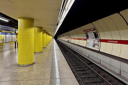Fraunhoferstraße Gleis 1