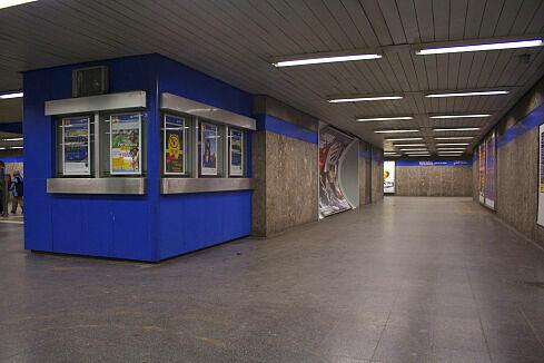 Nördliches Sperrengeschoss am Goetheplatz
