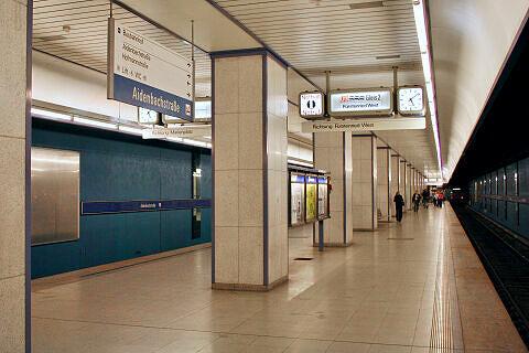 Aidenbachstraße Gleis 2