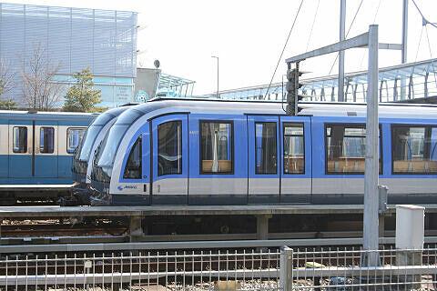 C-Zug 607 abgestellt im Betriebshof Nord