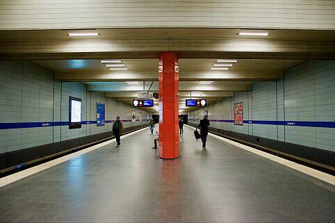 U-Bahnhof Giselastraße