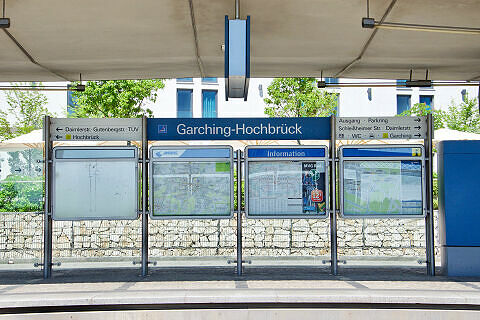U-Bahnhof Garching-Hochbrück