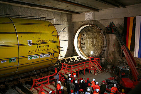 Tunneltaufe Moosach