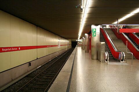 Neuperlach Zentrum Gleis 2