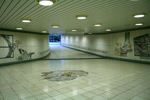 Sperrengeschoss im U-Bahnhof Thalkirchen