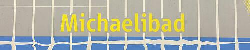 Stationsschild Michaelibad