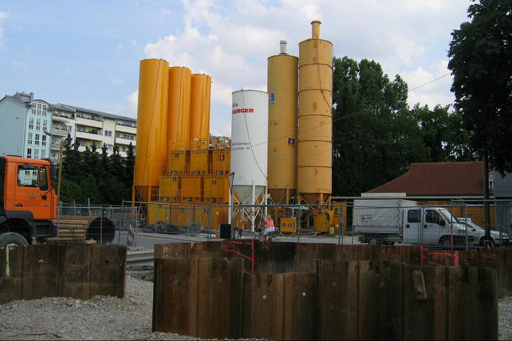 Aufbereitungsanlage für die Stützflüssigkeit U-Bahn-Bau U3 Nord